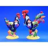 figurine coq poultry in motion s p cocktails pm16299