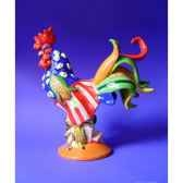figurine coq poultry in motion popcorn chicken pm16283