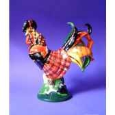 figurine coq poultry in motion highland rooster pm16282