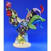 figurine coq poultry in motion herbed chicken pm16292