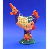 figurine coq poultry in motion hen party pm16210