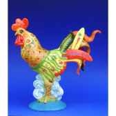 figurine coq poultry in motion hawaiian pm16217