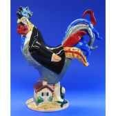 figurine coq poultry in motion gone with the wing pm16295