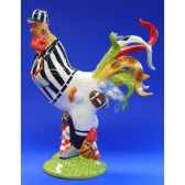 figurine coq poultry in motion fowat play pm16294