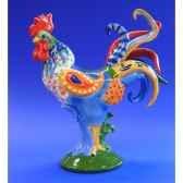figurine coq poultry in motion cordon bleu pm16207