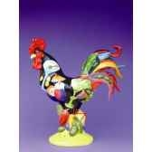 figurine coq poultry in motion cocktails poultry pm16238