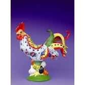 figurine coq poultry in motion chicken tuscany poultry pm16243