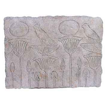 Décoration murale Papyrus Wall Plaque, granite -bs2311gry