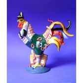 figurine coq poultry in motion chicken schnitzepm16285