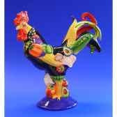 figurine coq poultry in motion chicken salad pm16201
