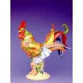 figurine coq poultry in motion chicken pot pie pm16237