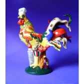 figurine coq poultry in motion chicken parmesan pm16286