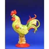 figurine coq poultry in motion chicken noodle sopu pm16220