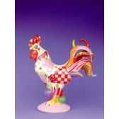 figurine coq poultry in motion chicken hearted poultry pm16241