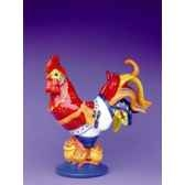 figurine coq poultry in motion chicken curry pm16242