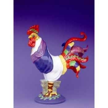 Figurine Coq - Poultry in Motion - Chicken Caesar - PM16236
