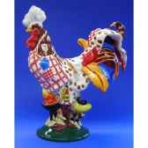 figurine coq poultry in motion bbq chicken pm16296