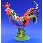figurine coq poultry in motion a la king pm16205