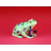 figurine grenouille fancifufrogs wine hoppy 11935