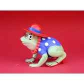 figurine grenouille fancifufrogs red hat hoppy 11936