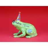 figurine grenouille fancifufrogs old croaker 11908