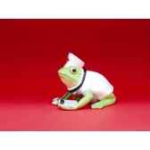 figurine grenouille fancifufrogs nurse ribbit 11967