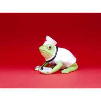 Figurine Grenouille - Fanciful Frogs - Nurse Ribbit - 11967