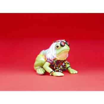 Figurine Grenouille - Fanciful Frogs - Leap for Peace - 11966