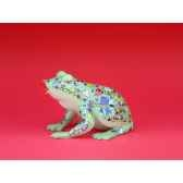 figurine grenouille fancifufrogs horny toad 6330