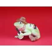 figurine grenouille fancifufrogs hoppy trails 6338