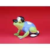 figurine grenouille fancifufrogs hoppy golfer 11931