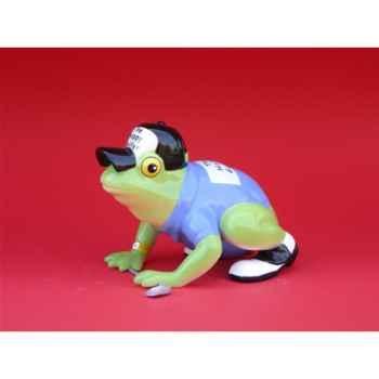 Figurine Grenouille - Fanciful Frogs - Hoppy Golfer - 11931
