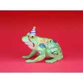 figurine grenouille fancifufrogs happy birthday 6332