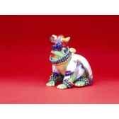 figurine grenouille fancifufrogs carmen croaker 11962