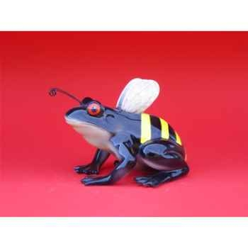 Figurine Grenouille - Fanciful Frogs - Bee hoppy - 6335