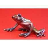 figurine grenouille fabulous forest frogs grenouille wu710355