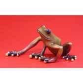 figurine grenouille fabulous forest frogs grenouille wu710348