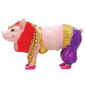 figurine cochon this little piggy pork belly dancer tlp16841