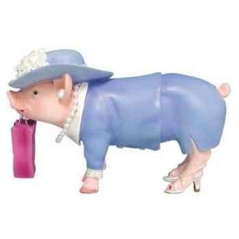 Figurine Cochon - This Little Piggy - Piggy Shopper - TLP16839