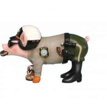 Figurine Cochon - This Little Piggy - Pig with donuts - TLP16840