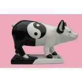 figurine cochon party piggies ying yang jung pap11
