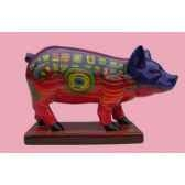 figurine cochon party piggies viennese delight pap05