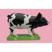 figurine cochon party piggies schizo pap07