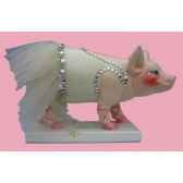 figurine cochon party piggies piggy en pointe pap16