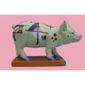 figurine cochon party piggies pigginsky pap15