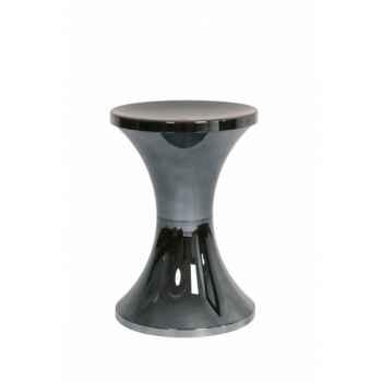 Tabouret tam tam chrome noir Branex Design -15039