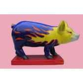figurine cochon party piggies hot rot pap13
