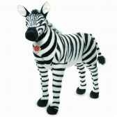 peluche zebre debout 80 cm hermann 90280 5