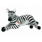 peluche zebre couche 85 cm hermann 90285 0