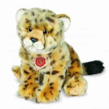 Peluche léopard 29 cm hermann 90453 3